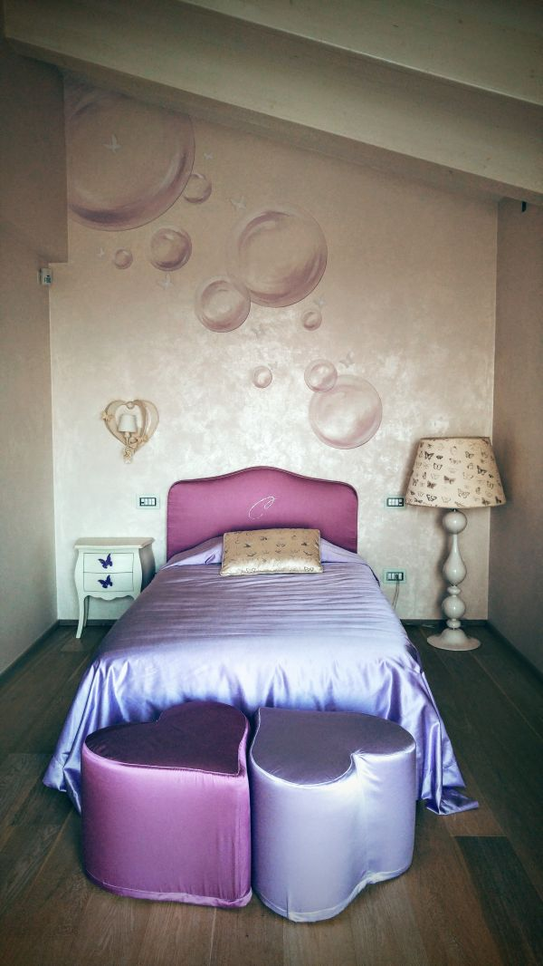 decori per interni; pitture decorative per interni, decorazioni stanze bambini